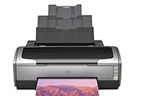 Picture of inkjet printer